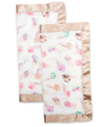 Lulujo Security Blankets Bamboo Cotton Ice Cream
