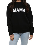 BRUNETTE The Label MAMA Crewneck Black