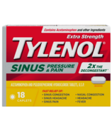 Tylenol Extra Strength Sinus and Pain Relief