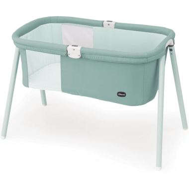 Chicco LullaGo Portable Bassinet Grey Mist