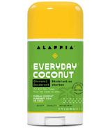 Alaffia Coconut Reishi Deodorant Coconut & Charcoal