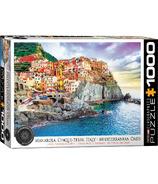 EuroGraphics Manarola Cinque Terre Italy Mediterranean Oasis Puzzle