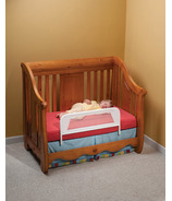 KidCo Convertible Crib Rail Telescopic