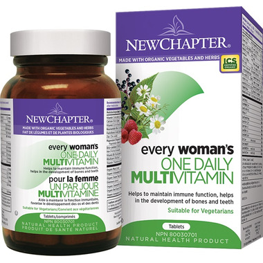 New Chapter Every Woman\'s One Daily Vitamin & Mineral Supplement