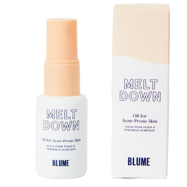 Meet Blume Meltdown Oil for Acne-Prone Skin