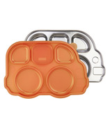Innobaby Din Smart Stainless Platter with Orange Lid
