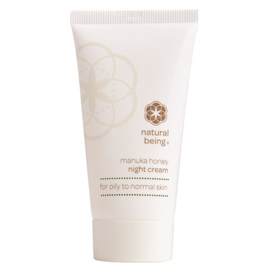 Natural Being Manuka Honey Night Cream Oily to Normal