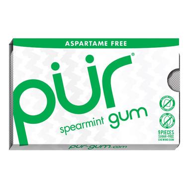 PUR Sugar-Free Gum Spearmint