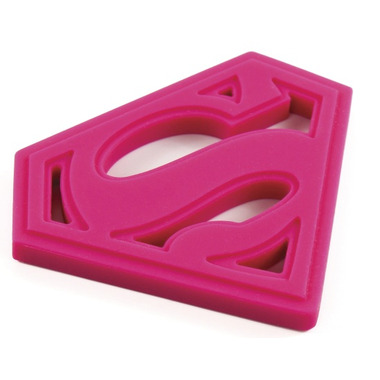 Bumkins DC Comics Silicone Teether Supergirl