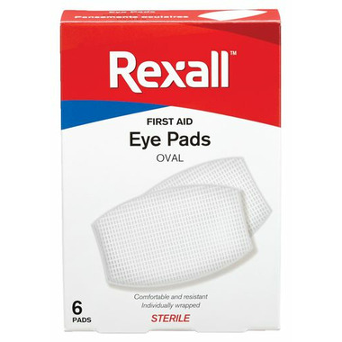 Rexall First Aid Oval Eye Pads