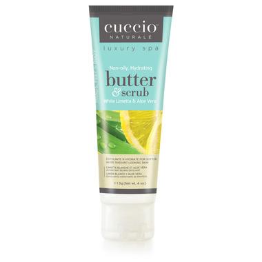 Cuccio Naturale Hydrating Body Butter & Scrub White Limetta & Aloe Vera