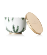 Thymes Heritage Poured Candle Tin Gold Lid Frasier Fir