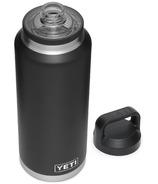 YETI Rambler Bottle + Chug Cap Black