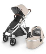 UPPAbaby VISTA V2 Stroller Declan Oat Melange Silver Chestnut Leather