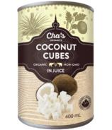 Cha's Organics Coconut Cubes In Juice