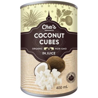 Cha\'s Organics Coconut Cubes In Juice