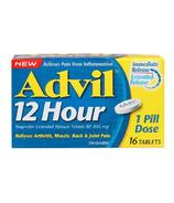 Advil 12 Hour Ibuprofen Extended Release Tablets 16 Pack