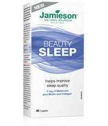 Jamieson Beauty Sleep Melatonin Plus Biotin and Collagen