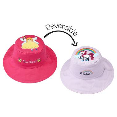 3b12d8614 Flapjack Kids Reversible Sun Hat Fairy & Unicorn