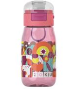 Zoku Kids Flip Gulp Bottle Pink