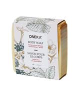 Oneka Evening Primrose and Raspberry Soap Bar