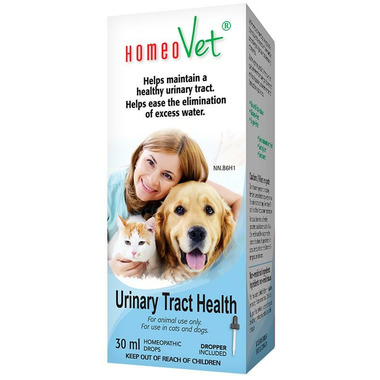 HomeoVet Homeopathic Cats & Dogs Urinary Tract Health