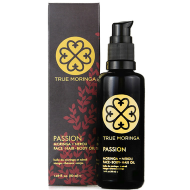 True Moringa Passion Face, Hair, Body Oil