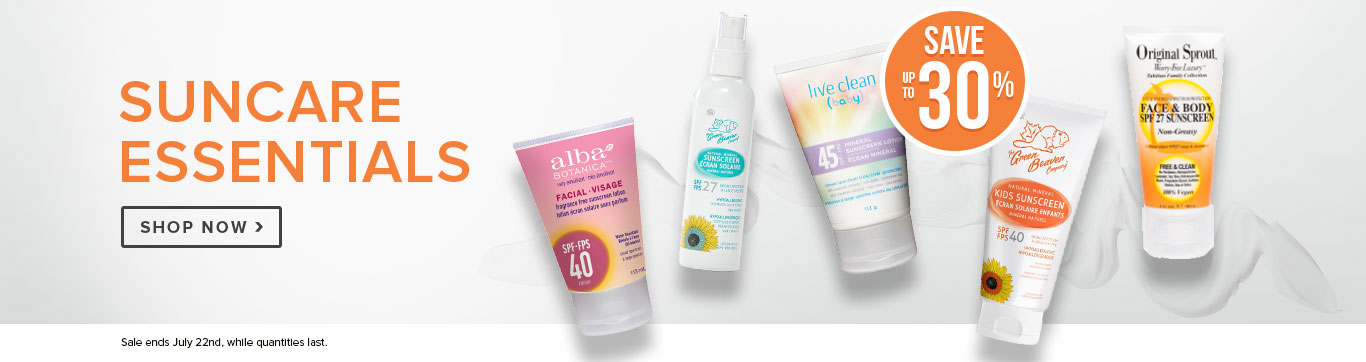 Save up to 30% on Sun Care Essentials