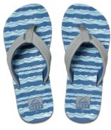 Reef Boys Kids Ahi Blue Grey Ocean
