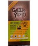 Giddy Yoyo Raw Organic Chocolate Bar Limon Salt
