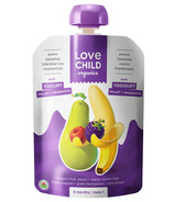 Love Child Organics Baby Food Pouch With Fruit, Yogurt & Grains