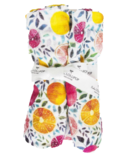 Loulou Lollipop Luxe Muslin Swaddle Blanket Summer Citrus