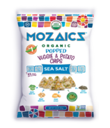 Mozaics Sea Salt Popped Veggie & Potato Chips