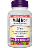 Webber Naturals Mild Iron