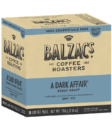 Balzac's Coffee Roasters A Dark Affair 100% Compostable Coffee Pod