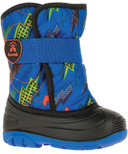 Kamik Snowbug 4 Toddler Snowboot Blue Orange