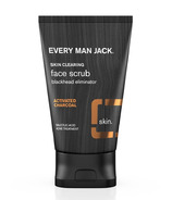 Every Man Jack Face Scrub Charcoal Skin Clearing