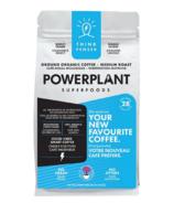 PowerPlant Superfoods Organic Lions Mane Mushroom Ground Coffee THINK BLEND