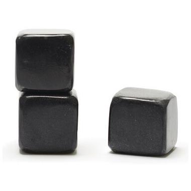 Teroforma Whisky Stones Beverage Cubes Black
