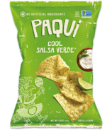 Paqui Tortilla Chips Cool Salsa Verde