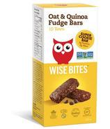Wise Bites Oat & Quinoa Fudge Cookie Bars