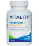 Vitality Magnesium + Chamomile Capsules