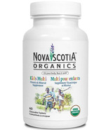 Nova Scotia Organics Kids Multi Vitamin and Mineral Supplement