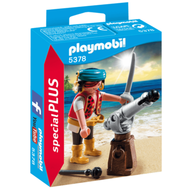 Playmobil Pirate with Cannon