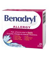 Benadryl Allergy Liqui-Gels