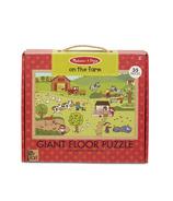 Melissa & Doug Giant Floor Puzzle On The Farm