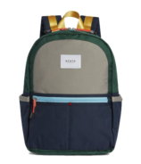 STATE Kane Backpack Colour Block Green/Navy