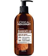 L'Oréal Paris Men Expert nettoyant visage 3-en-1 nettoyant visage, barbe + shampooing cheveux
