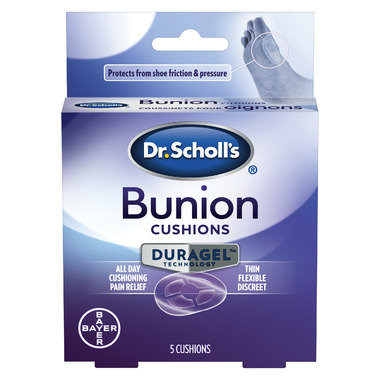 Dr. Scholl's Bunion Cushions with DURAGEL Technology