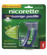 Nicorette Mini Lozenges Mint 4 mg